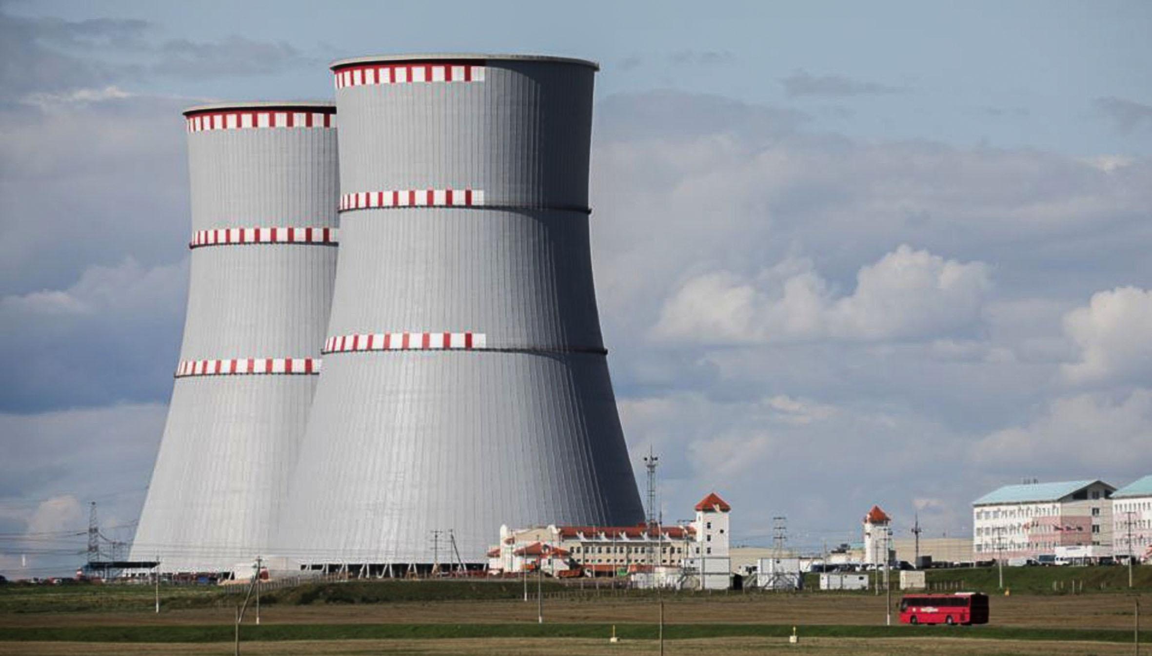Az osztroveci atomerőmű a litván fővárostól, Vilniustól mindössze 50 kilométerre fekszik #moszkvater