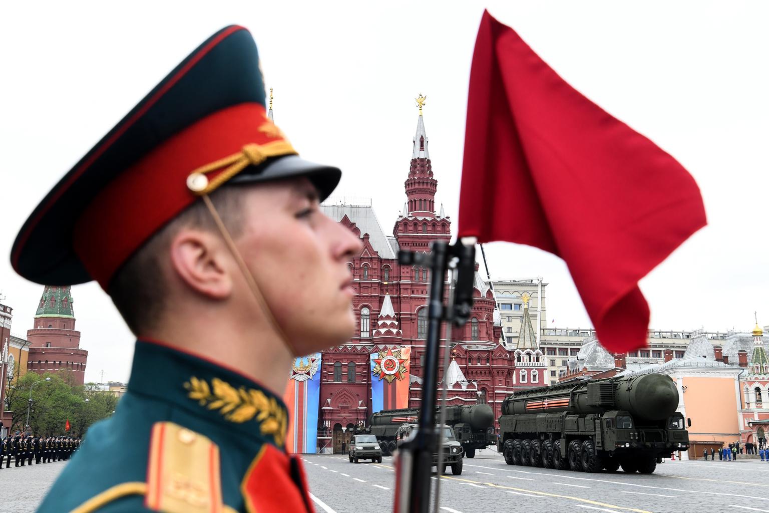 Győzelem napi felvonulás a moszkvai Vörös téren 2018. május 6-án #moszkvater