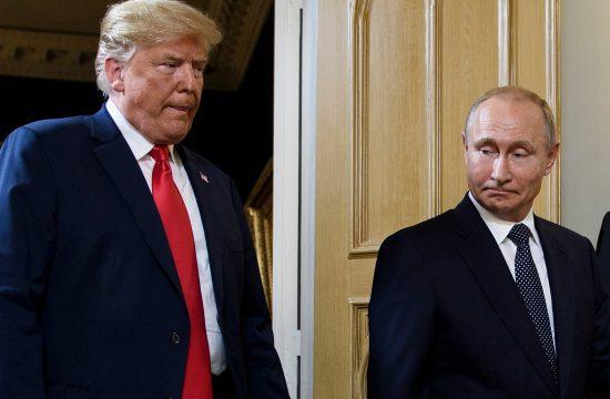 Donald Trump és Vlagyimir Putyin Helsinki találkozójukon 2018. július 16-án #moszkvater
