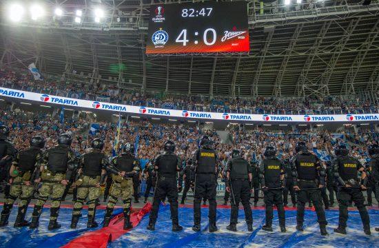 A Zenit az Európa Ligában 4-0-ra kikapott a Dinamo Minszktől, ami nem sok jót ígér #moszkvater