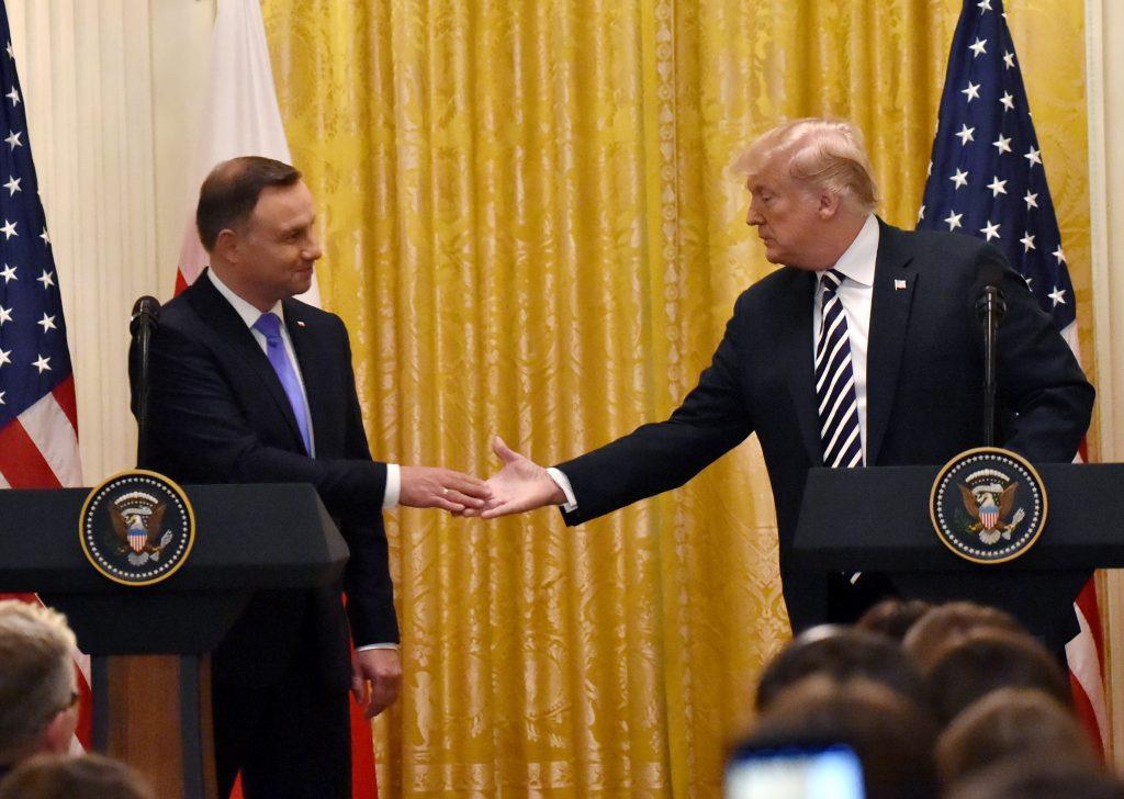 #moszkvater Duda - Trump