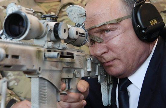 Vlagyimir Putyin 2018 szeptemberében egy moszkvai hadiipari kiállításon #moszkvater