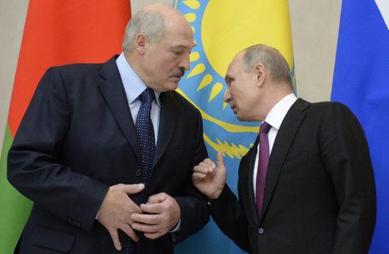 Alekszander Lukasenko és Vlagyimir Putyin találkozója Szentpéterváron 2018. december 6-án #moszkvater