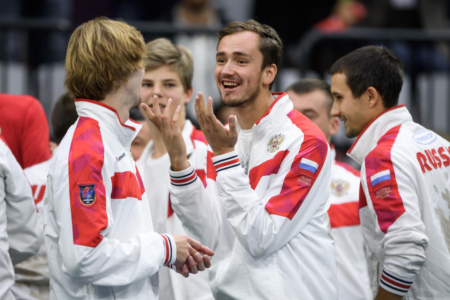 Medvegyev, Hacsanov, Rubljov összeállítású válogatottat a Davis Kupa egyik fő esélyesének tartják #moszkvater