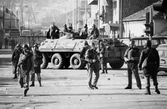 Tüntetés Pristinában 1989. márciusában #moszkvater