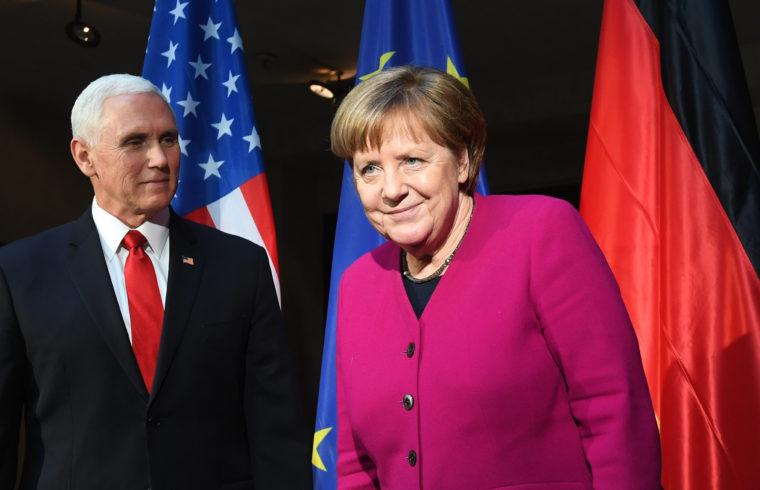 Mike Pence és Angela Merkel találkozója Münchenben 2019. február 15-én #moszkvater