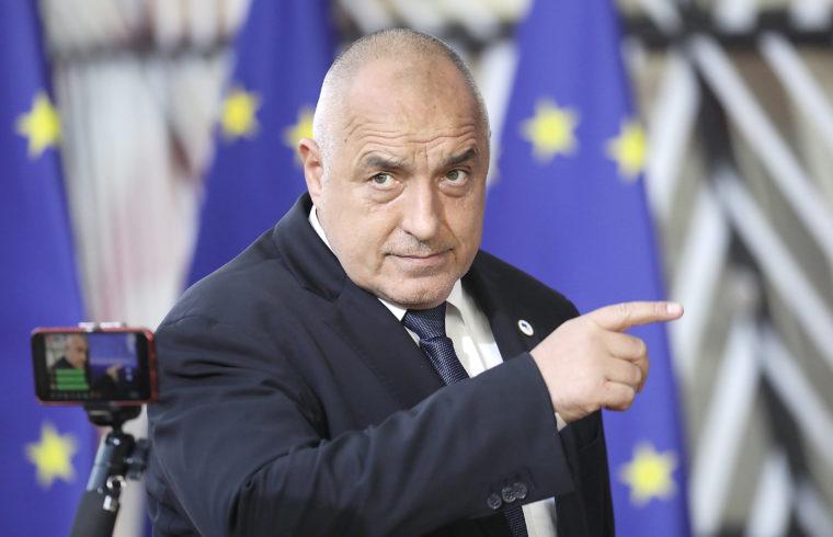 Bojko Boriszov 2019. március 21-én Brüsszelben #moszkvater