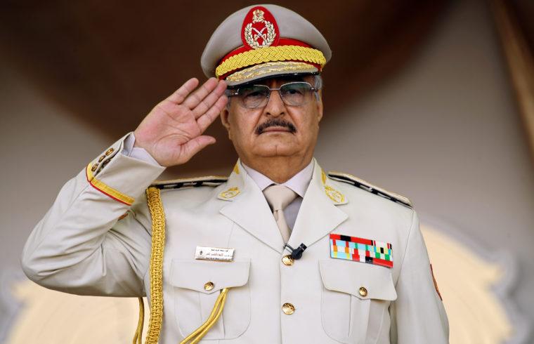 Halif Haftar tábornok #moszkvater