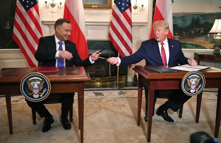 Andrzej Duda és Donald Trump találkozója Washingtonban 2019. június 12-én #moszkvater