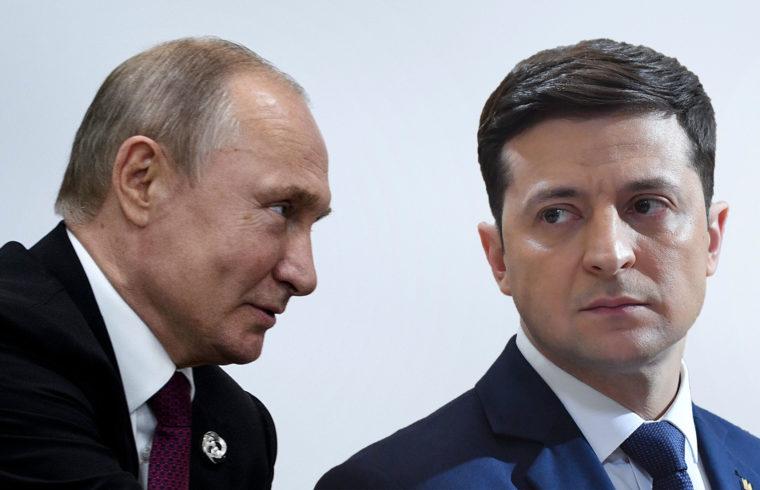 Vlagyimir Putyin és Volodimir Zelenszkij #moszkvater