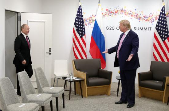Vlagyimir Putyin és Donald Trump az osakai G20-as találkozón 2019. június 28-án #moszkvater