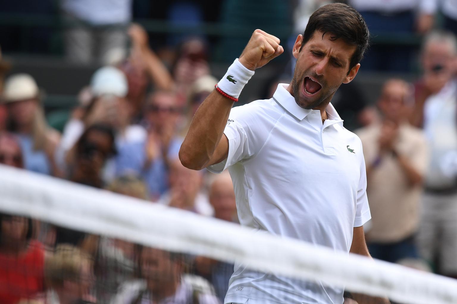 Novak Djokovics Wimbledonban, 2019-ben #moszkvater