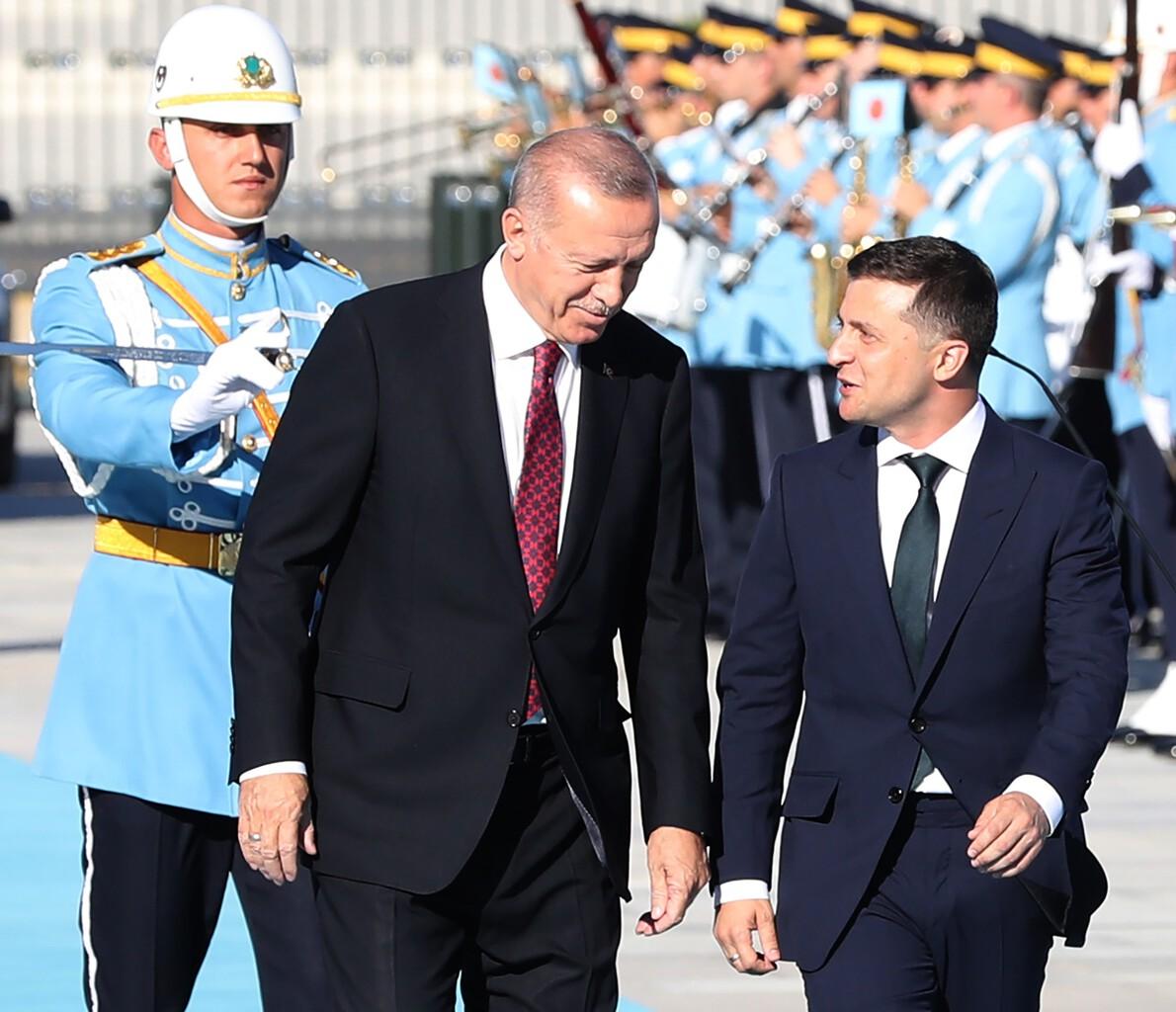 Erdogan és Volodimir Zelenszkij találkozója Ankarában 2019. augusztus 7-én #moszkvater