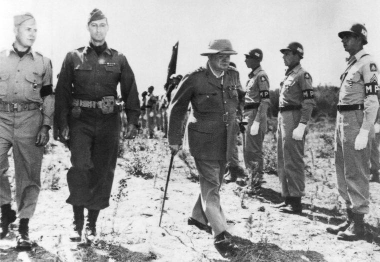 Winston Churchill Marseille közelében 1944-ben #moszkvater