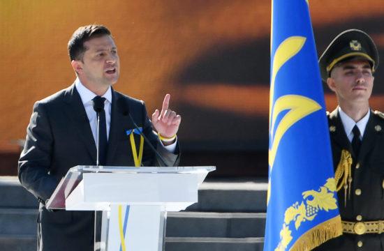 Volodimir Zelenszkij beszéde Ukrajna Függetlensége ünnepének 28. évfordulóján Kijevben 2019. augusztus 24-én #moszkvater