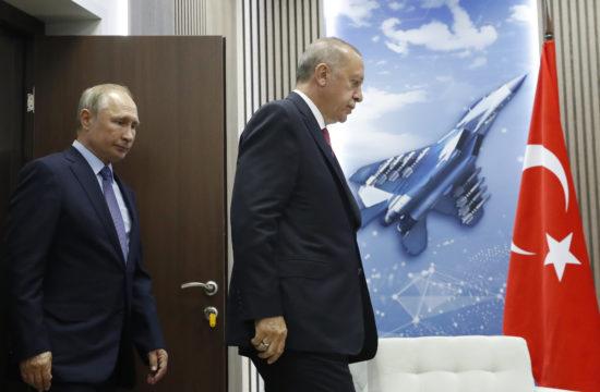 Vlagyimir Putyin és Recep Tayyip Erdogan találkozója Moszkvában, 2019-ben #moszkvater