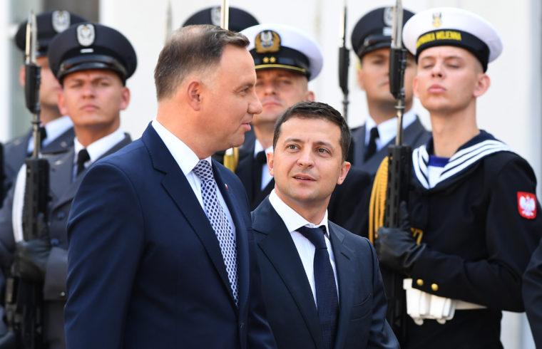 Andrzej Duda és Volodimir Zelenszkij találkozója Varsóban 2019. augusztus 31-én #moszkvater