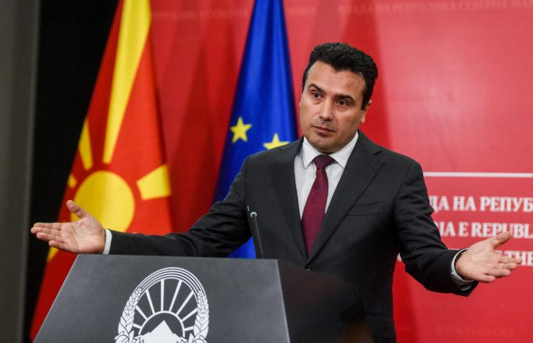 Zoran Zaev miniszterelnök sajtótájékoztatója 2019. október 19-én Szkopjéban #moszkvater