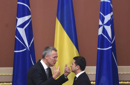 Jens Stoltenberg Nato főtitkár és Volodimir Zelenszkij találkozója Kijevben 2019. október 31-én #moszkvater