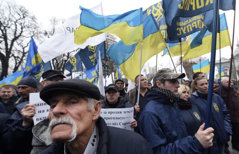 Ukrajna, KIjev, tüntetés #moszkvater