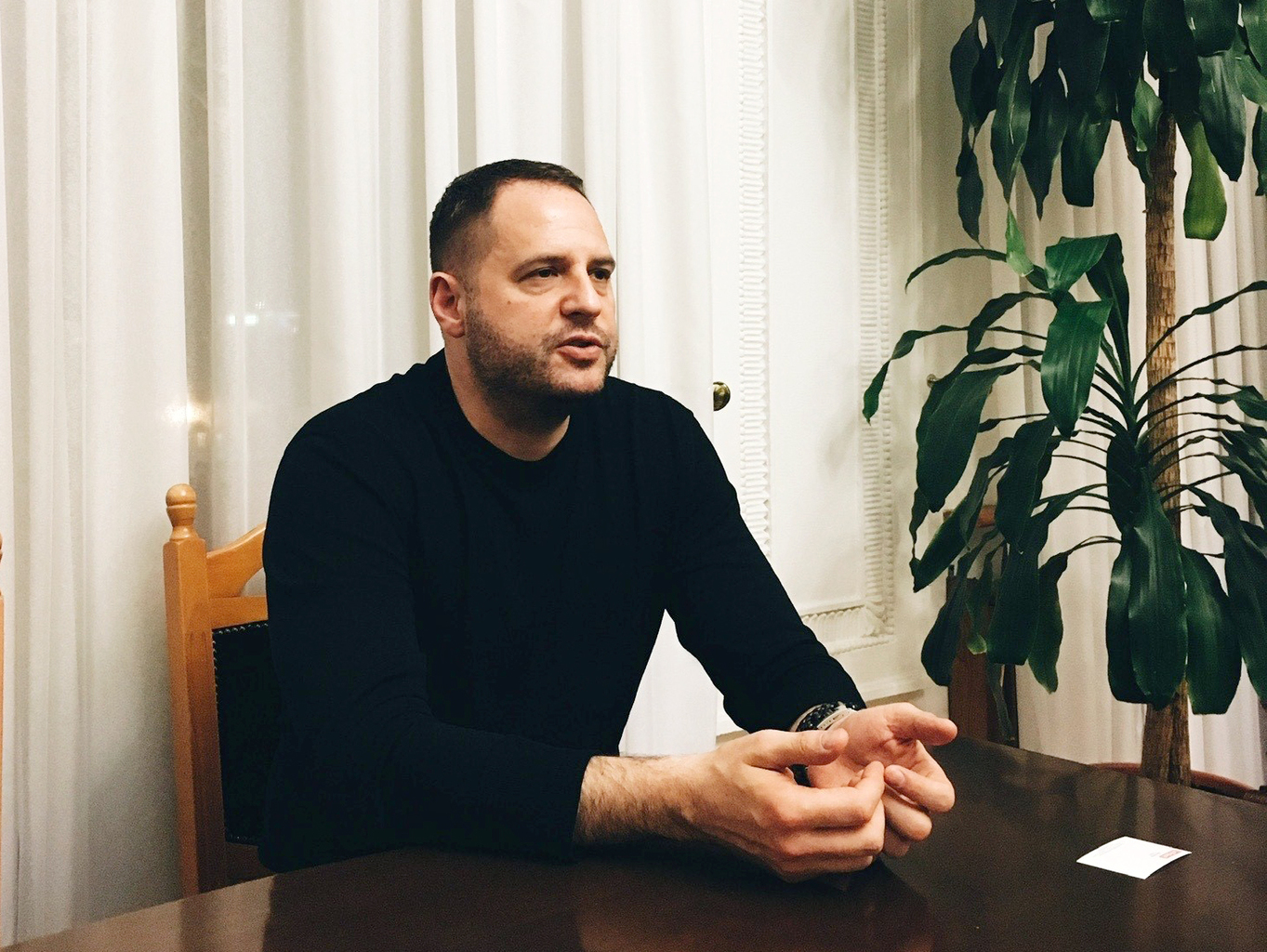 Andrij Jermak #moszkvater