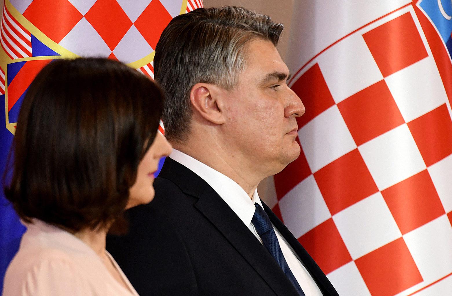 Zoran Milanović horvát elnök #moszkvater