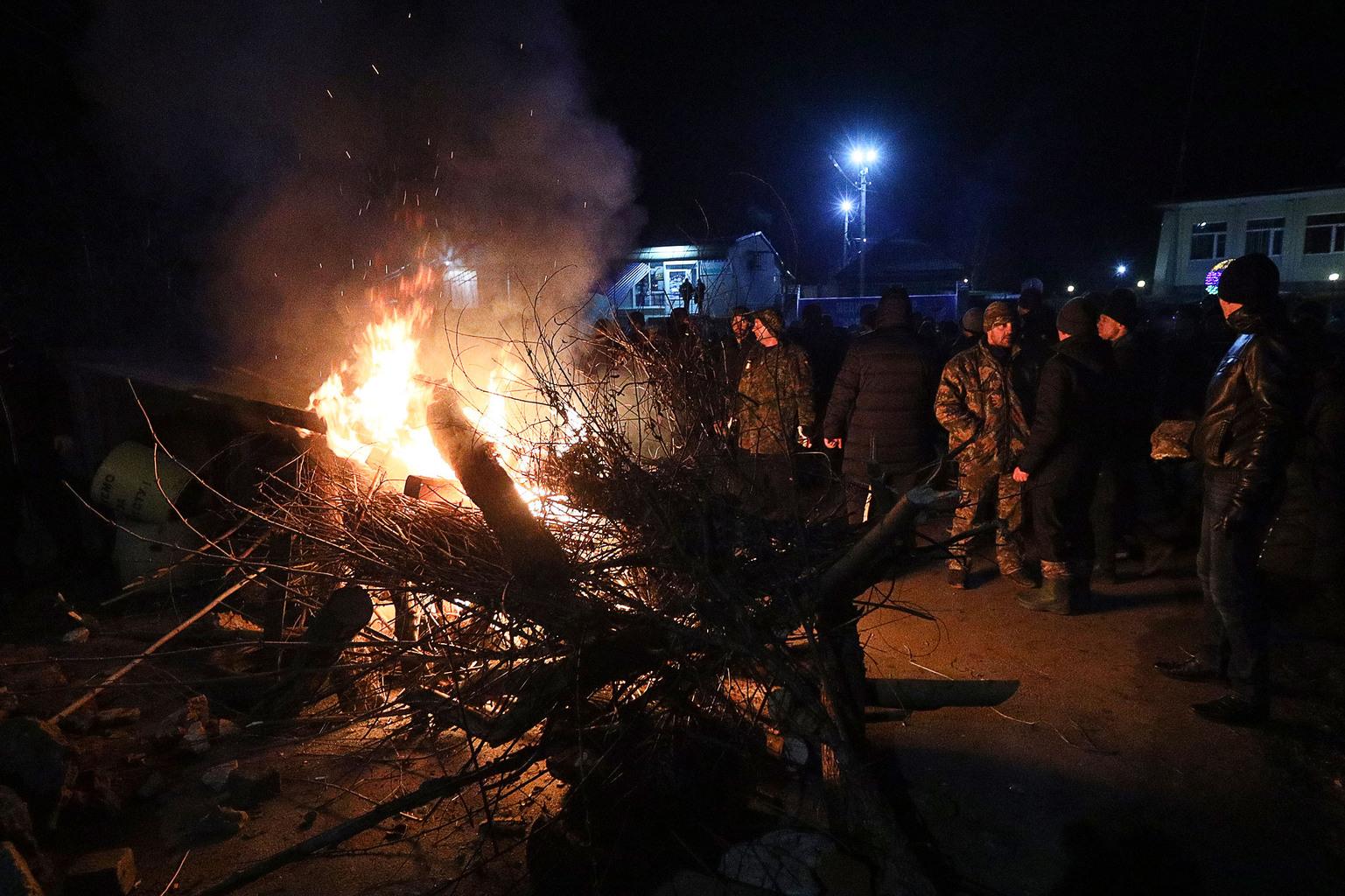 Koronavírus Ukrajna blokád #moszkvater