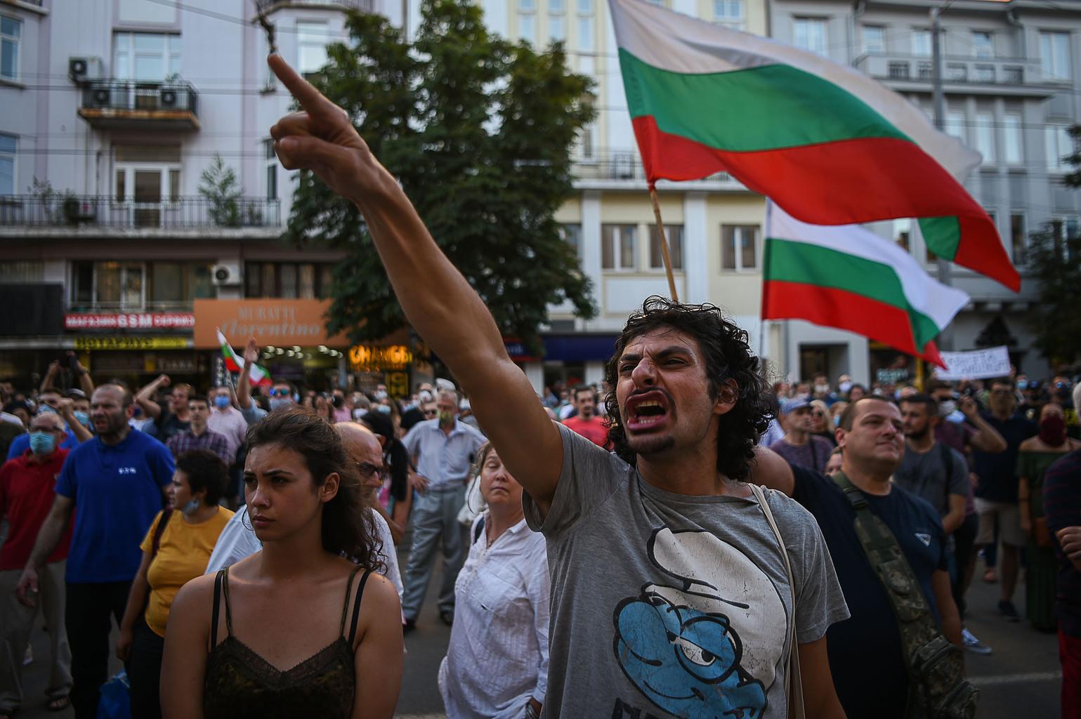 Nem csillapodnak a kormányellenes tüntetések Bulgáriában #moszkvater