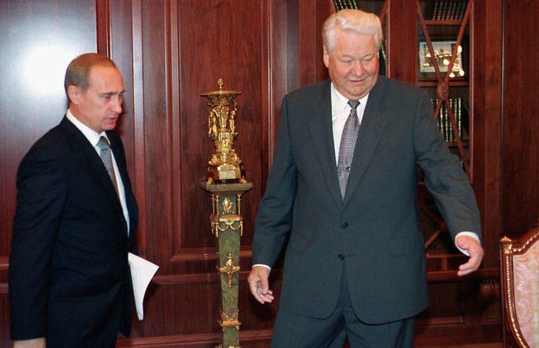 Vlagyimir Putyin és Borisz Jelcin 1999 szeptemberében #moszkvater