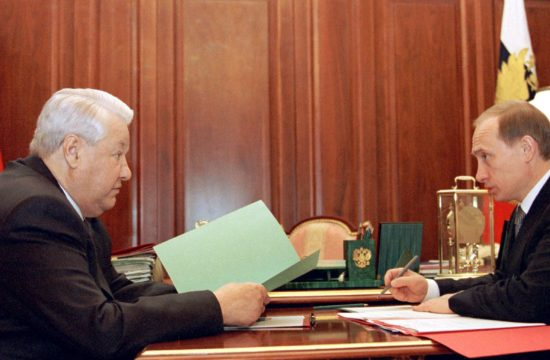 Borisz Jelcin és Vlagyimir Putyin megbeszélése a Kremlben 1999. december 27-én #moszkvater