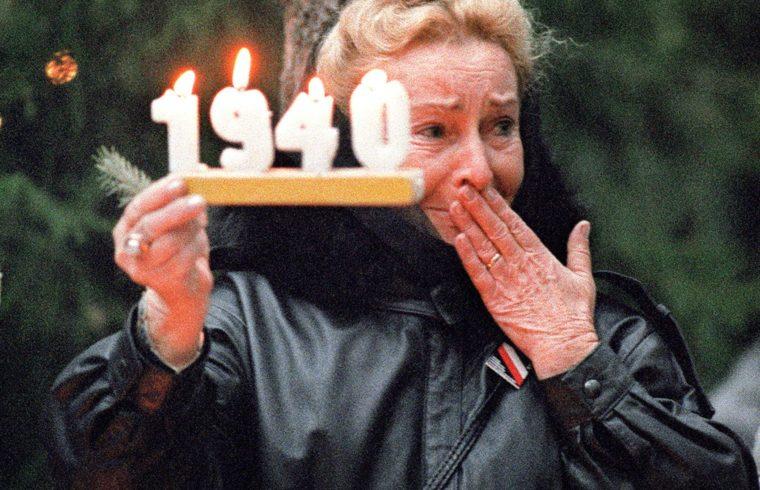 Megemlékezés Katynban, a vérengzés színhelyén 1989-ben #moszkvater