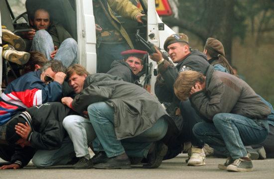 Szarajevó belvárosa 1992. április 6-án #moszkvater