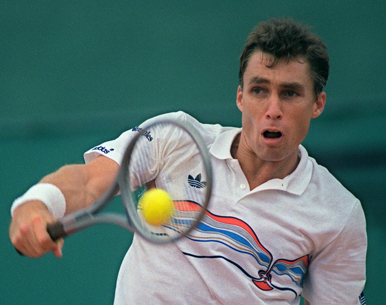 Ivan Lendl a Roland Garros döntőjében 1986-ban #moszkvater