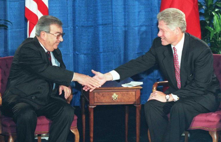 Jevgenyij Primakov és Bill Clinton találkozója 1996-ban #moszkvater