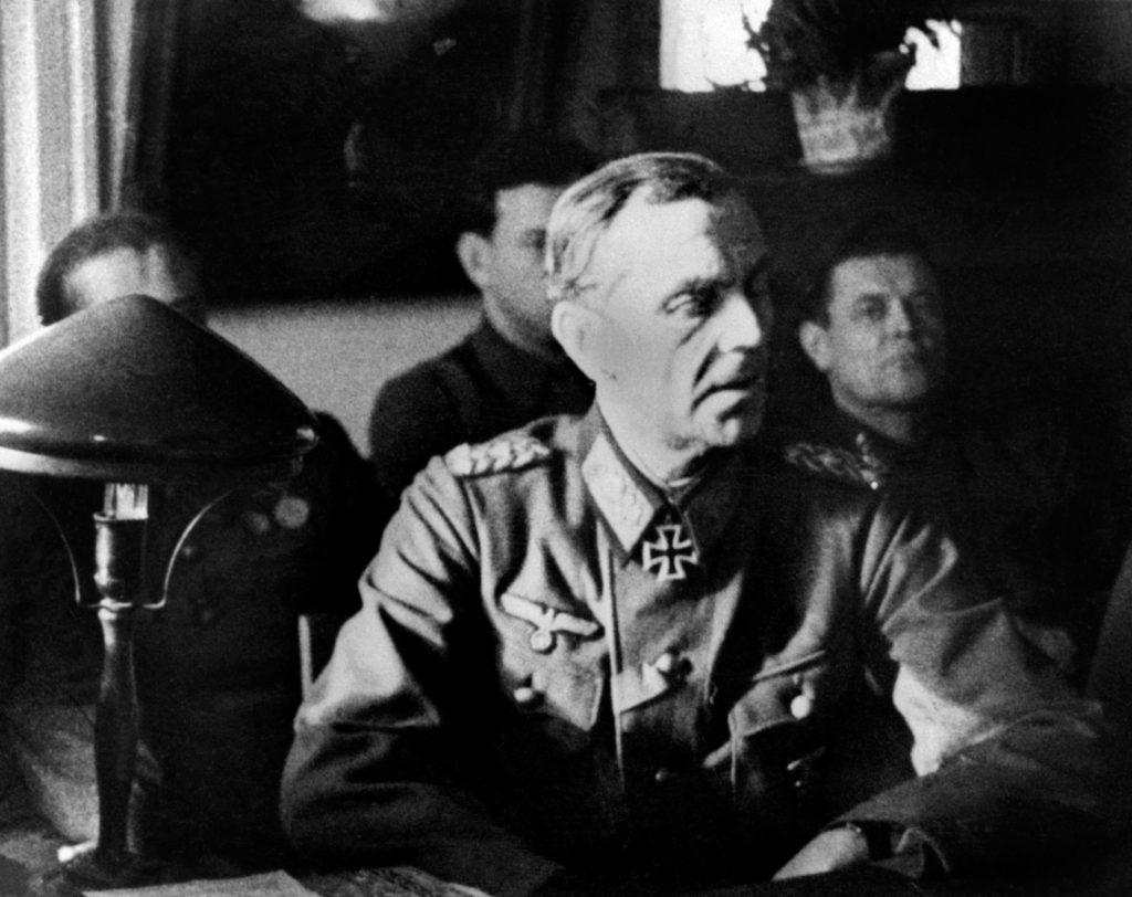 Friedrich von Paulus német tábornok 1944-ben a kihallgatásán Moszkvában Fotó:EUROPRESS/AFP/TASSZ #moszkvater