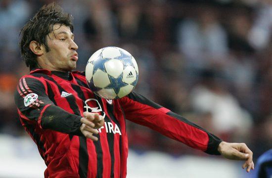 Kaladze aktív focistaként az AC Milan színeiben 2006-ban