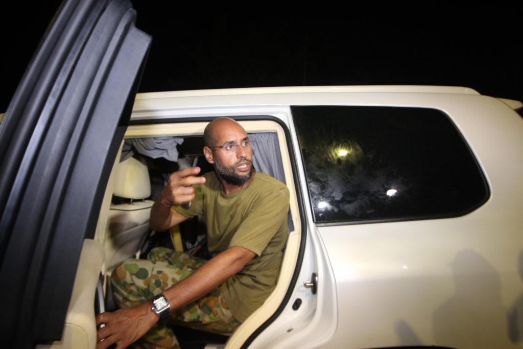 Szaif al-Iszlam 2011-ben, Tripoliban #moszkvater