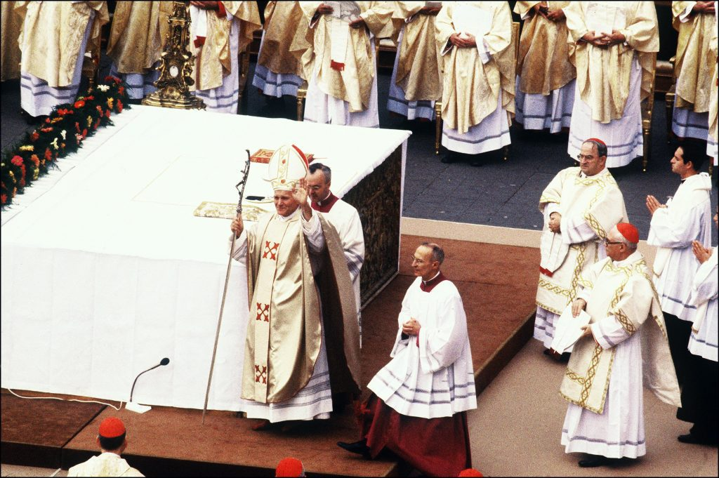 II. János Pál pápa beavatása 1978-ban a Szent Péter téren, a Vatikánban #moszkvater