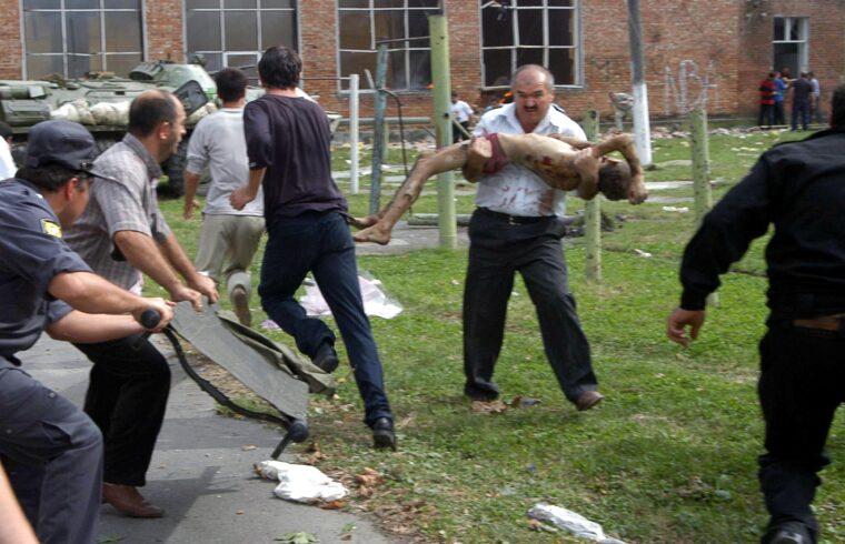"""""""A beszlani drámával 2004. szeptember 1-én újabb fordulóponthoz érkezett a terrorizmus elleni globális küzdelem"""" #moszkvater"""