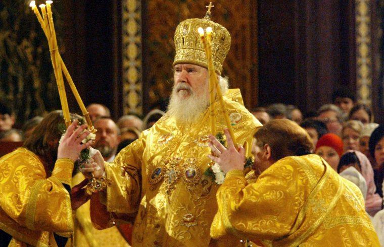 II. Alekszij pátriárka 2005-ben #moszkvater