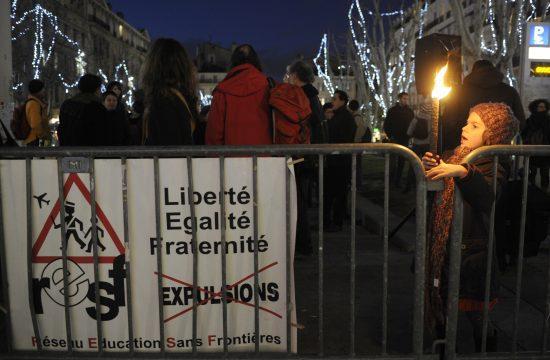 Tüntetés Marseille-ben 2010. december 1-jén egy csecsen család városba telepítése ellen #moszkvater