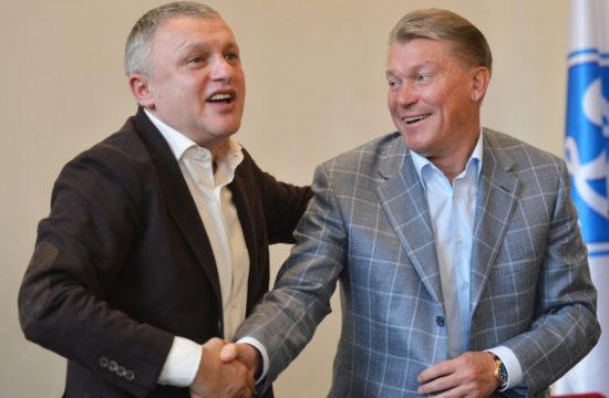 Igor Szurkisz és Oleg Blohin 2012-ben #moszkvater