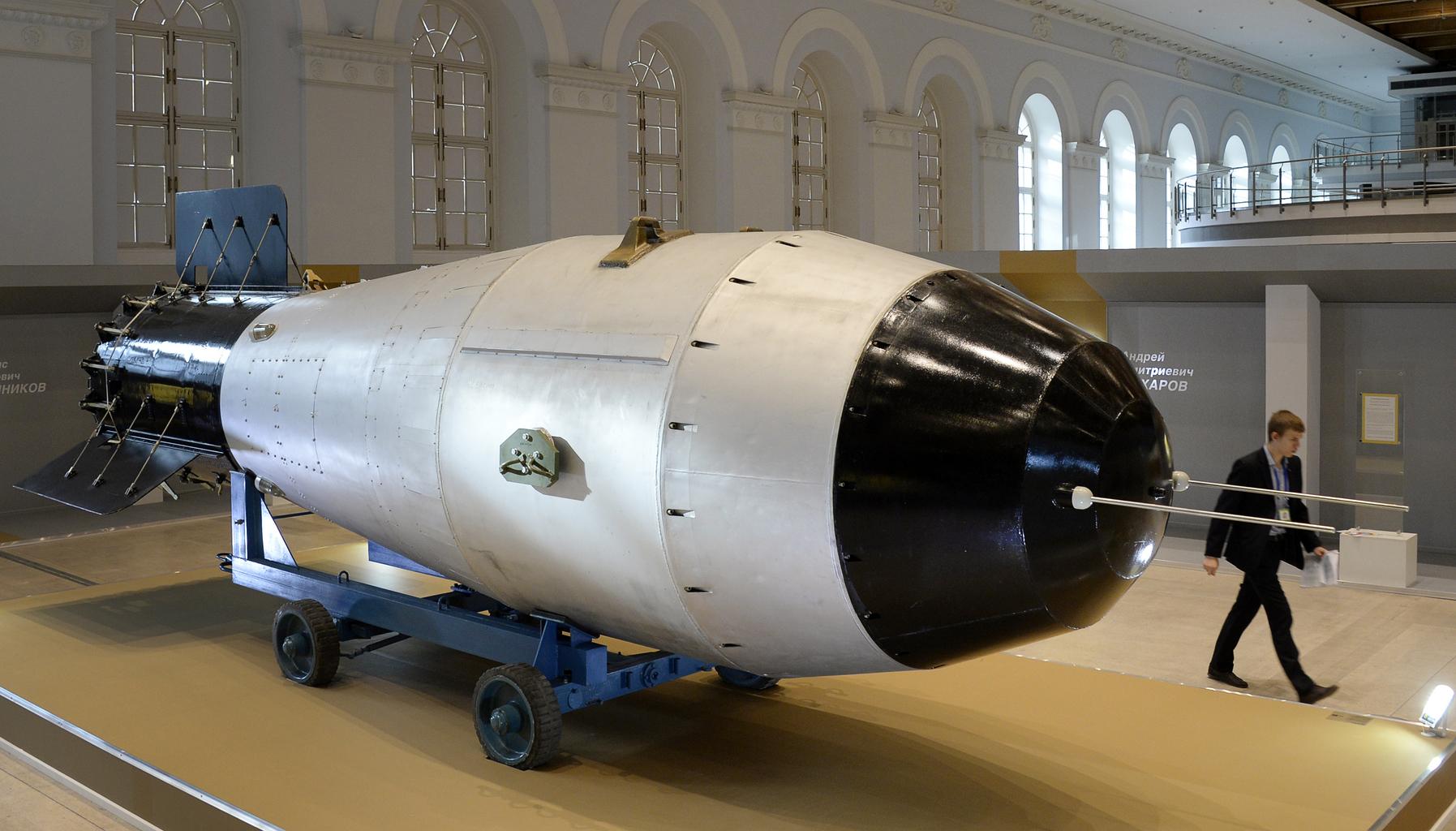 A Cár-bomba modellje Moszkvában #moszkvater