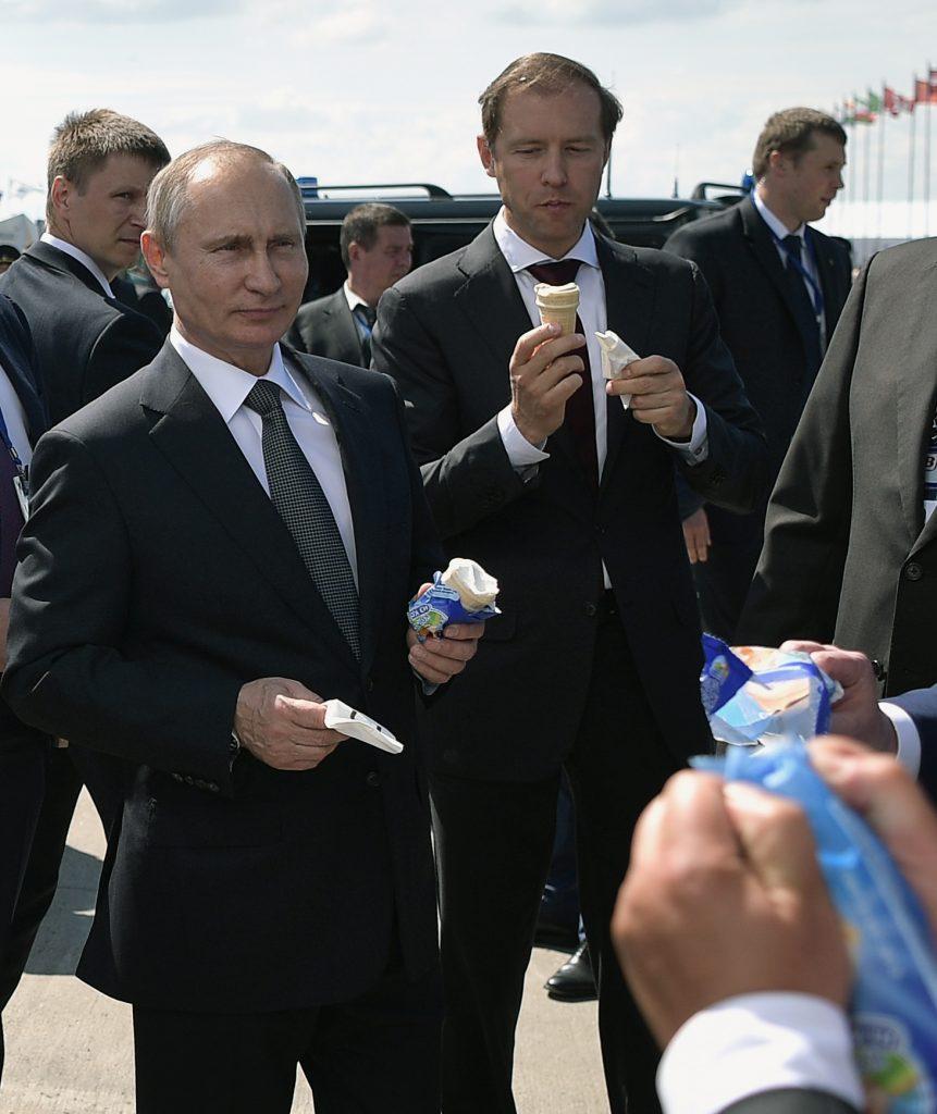 Putyin elnök is szereti a fagylaltot #moszkvater