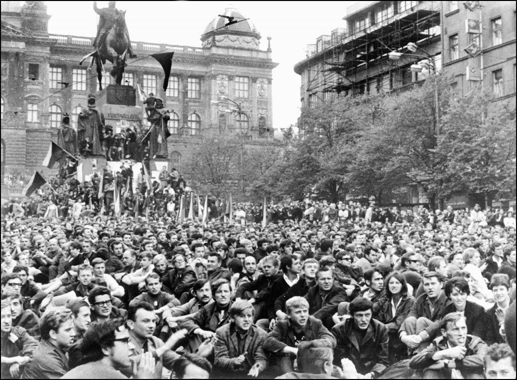 1968. augusztus 21. Prága, Vencel tér #moszkvater