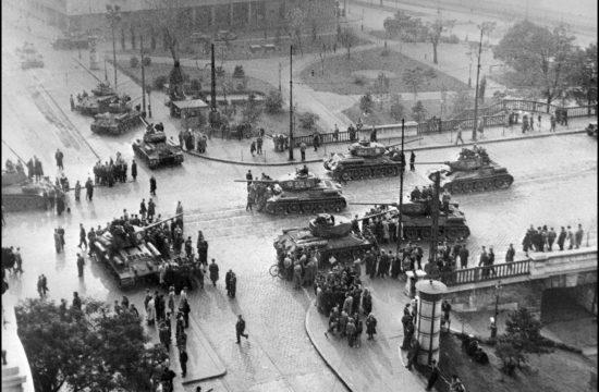 Szovjet tankok Budapesten 1956. november 12-én #moszkvater