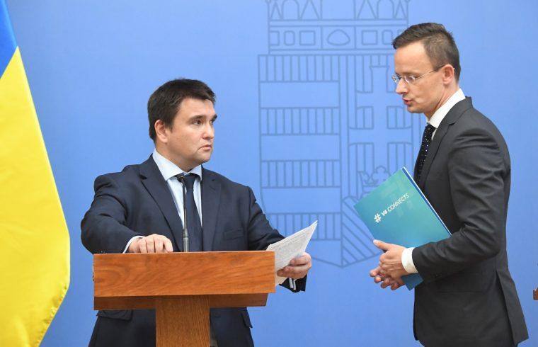 Pavlo Klimkin és Szijjártó Péter #moszkvater