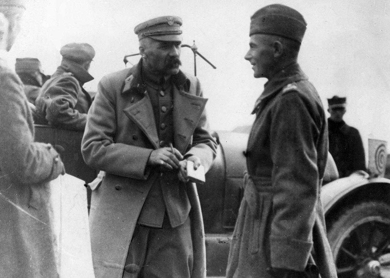 Józef Piłsudski és Rydz-Śmigły #moszkvater