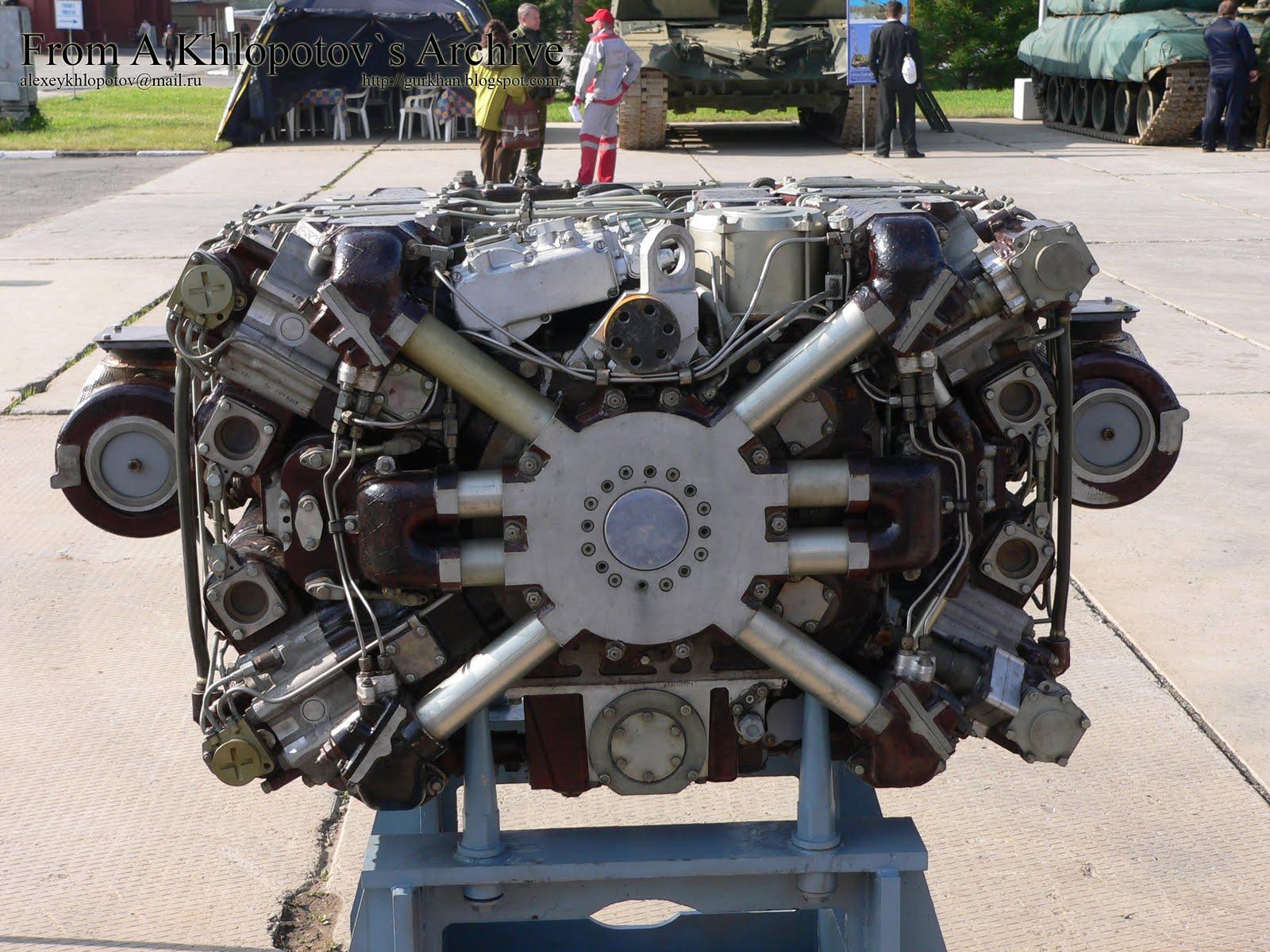 A meghajtásért felelős A-85-3 dízelmotor #moszkvater