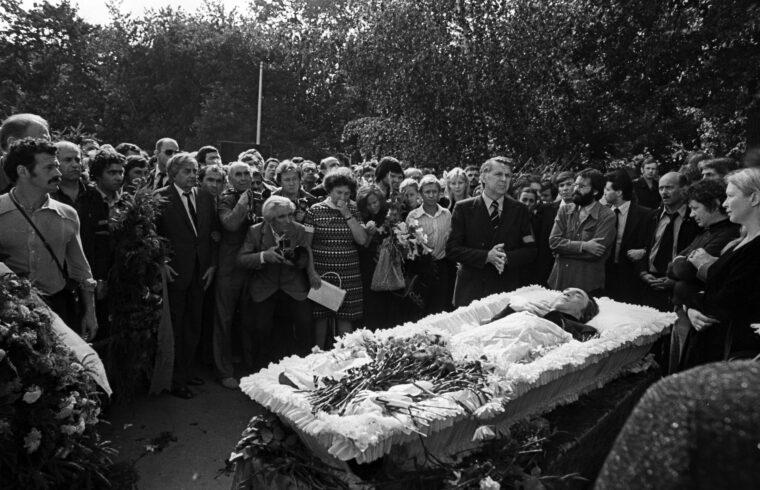 Vlagyimir Viszockij temetése 1980-ban #moszkvater